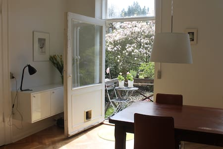 City apartment with lovely garden! - Frederiksberg