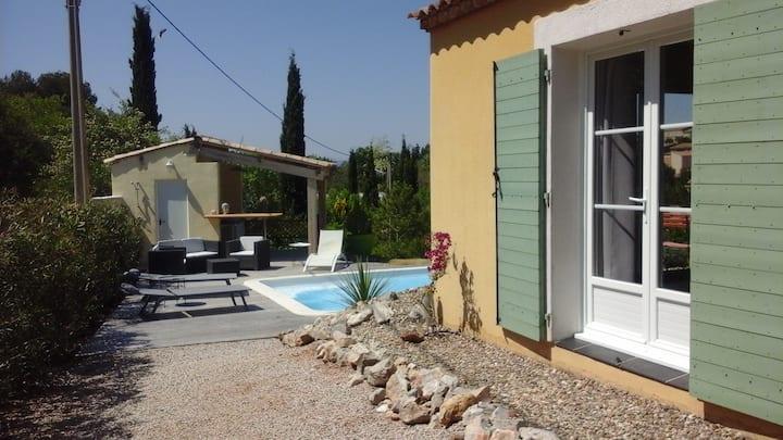 Belle villa  avec piscine privatisée