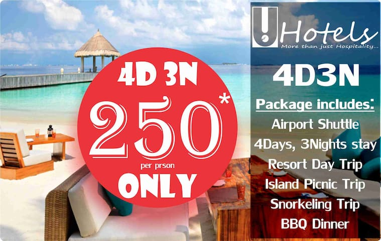 Maldives Holiday Pack 4Days3Nights - Hulhumale - Guesthouse