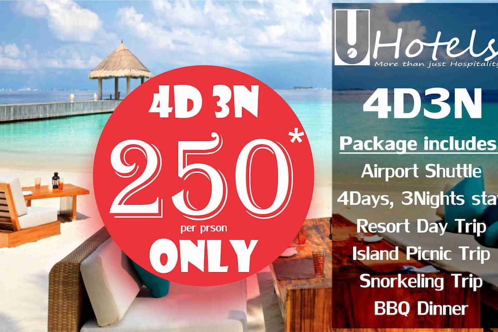 4Days, 3Nights Special Package