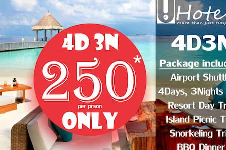 Maldives Holiday Pack 4Days3Nights