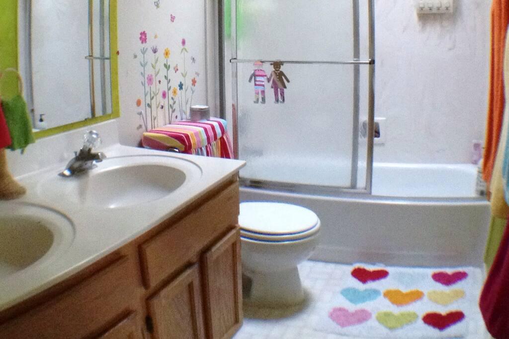 Clean, fresh bathroom
