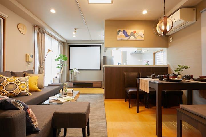 Ge.【新宿区】短期滞在と月額レンタルが利用可能