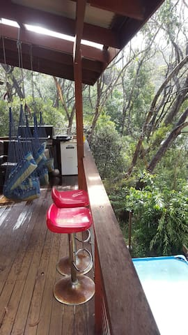 Misty Treetops peaceful 4bd cabin - Leura - Hus