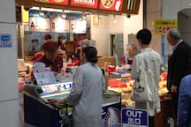 新大阪车站内的美食There are many food and restaurants in Shin-Osaka Station.