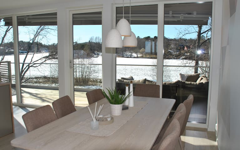 VIEW HOUSE-calm area outside the city near beaches - Sandefjord - Dom