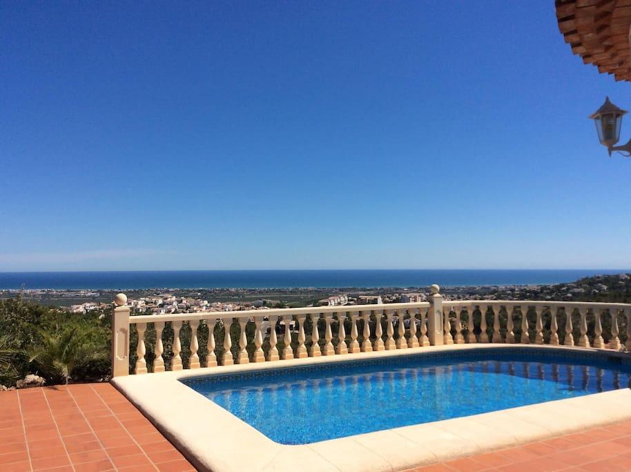 piscine vue mer