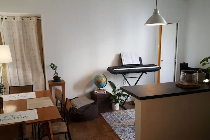 Charming private flat - 50m2 - Gare de Lyon area