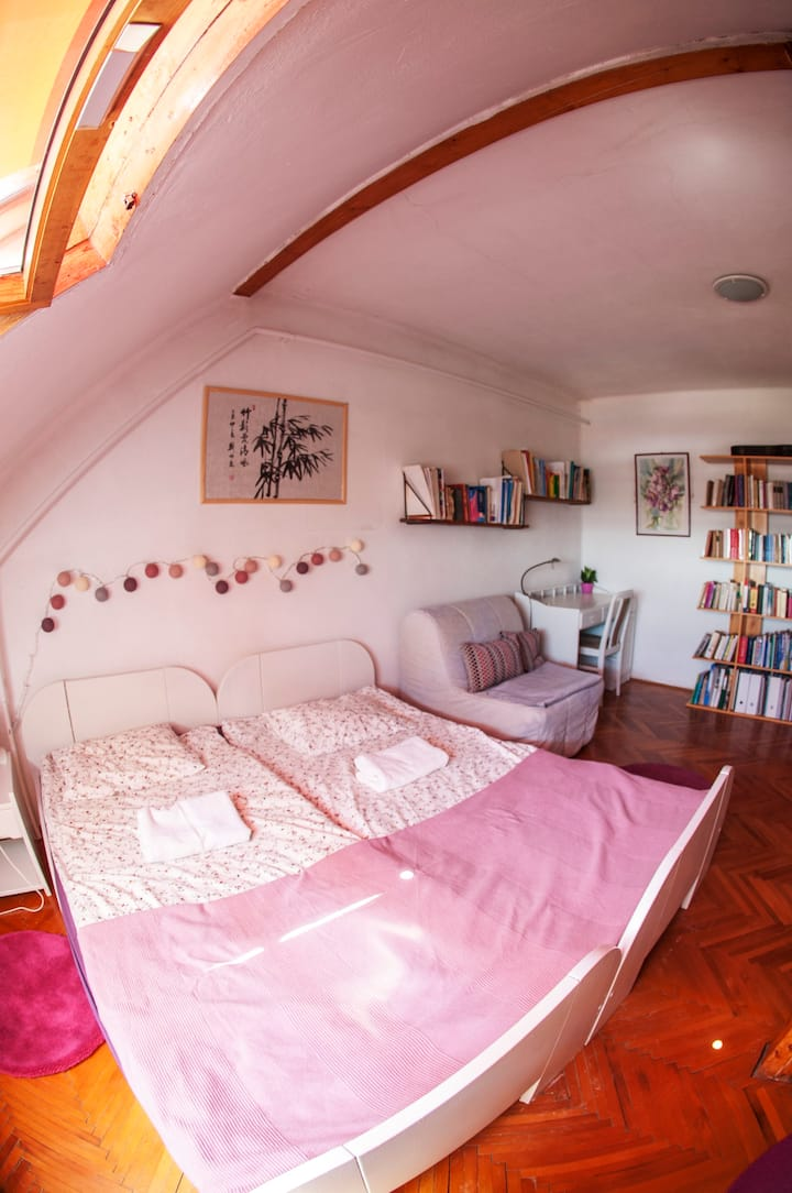 Homey Room at TerraceON - Hungarian Homestay