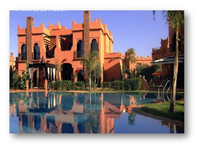 Villa avec cuisinière - Marrakech - Talo
