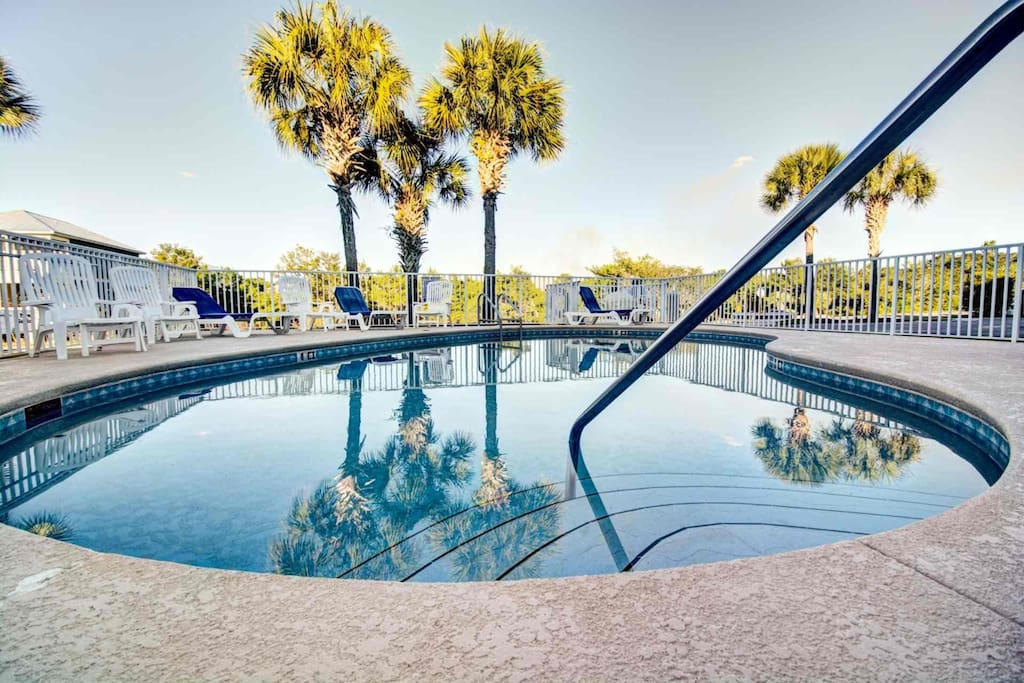 Community Pool is the perfect place to swim after a long day on the beach!