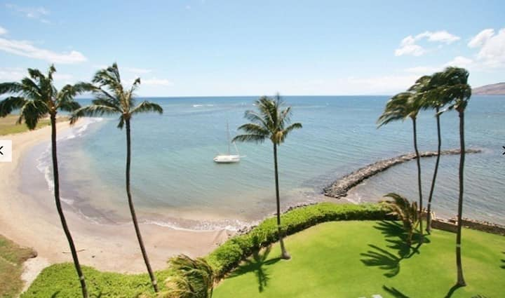 BEACH & WHALES FROM YOUR BALCONY/KIHEI MAUI