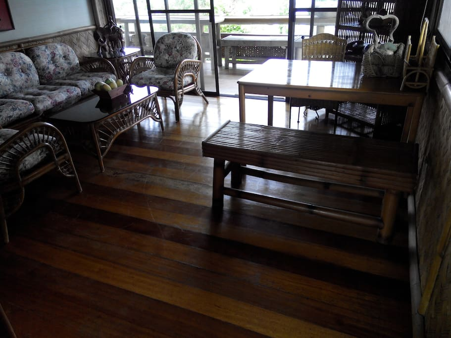 Fully aircon living room