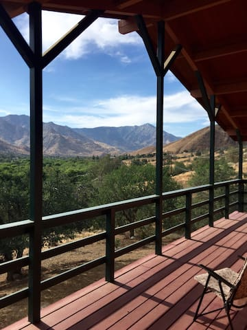 Great views off of elevated front deck