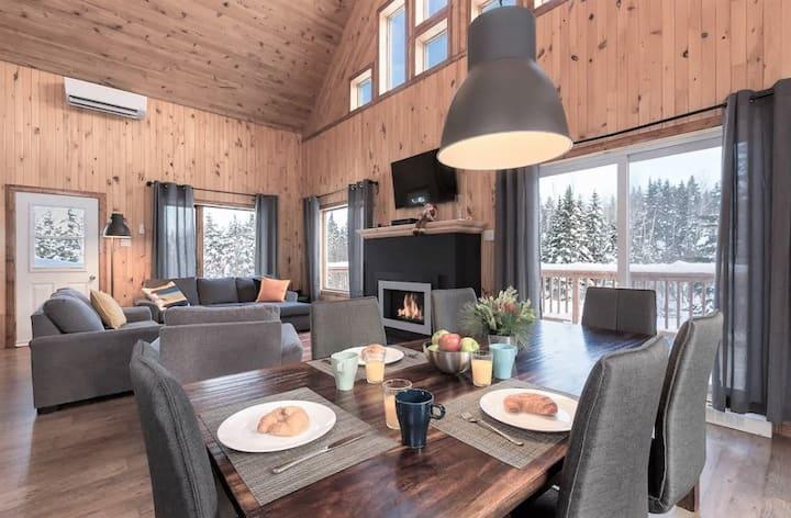 New-Ô Chalet détente & rivière, spa, ski alpin !