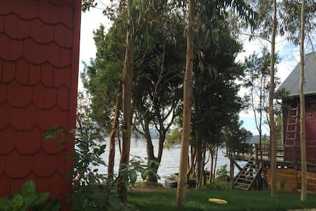 Lago Huillinco, solo disfrutar y vivir !!!