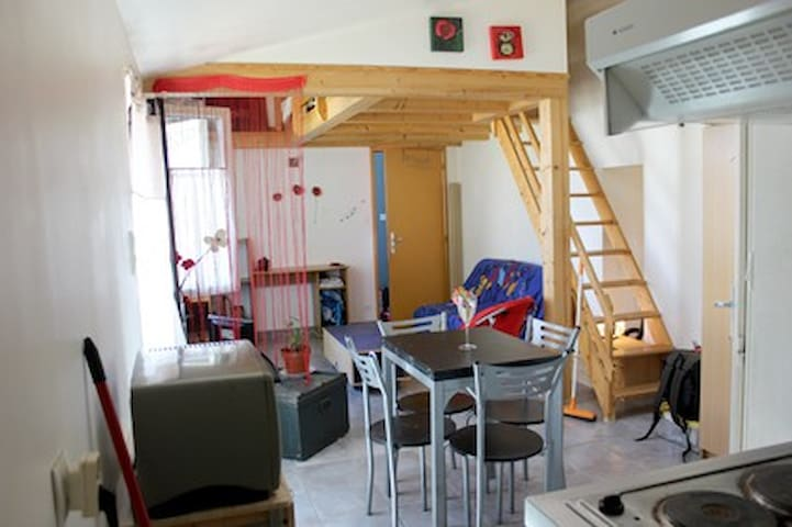 Joli studio  près de La Rochelle - Esnandes - Appartement
