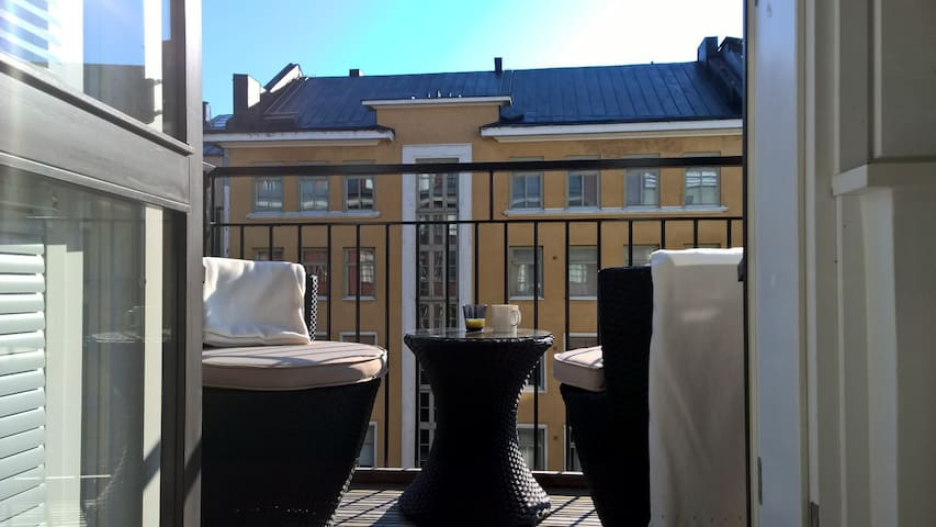 2Br SeaView Balcony & Sauna - Helsinki - Talo