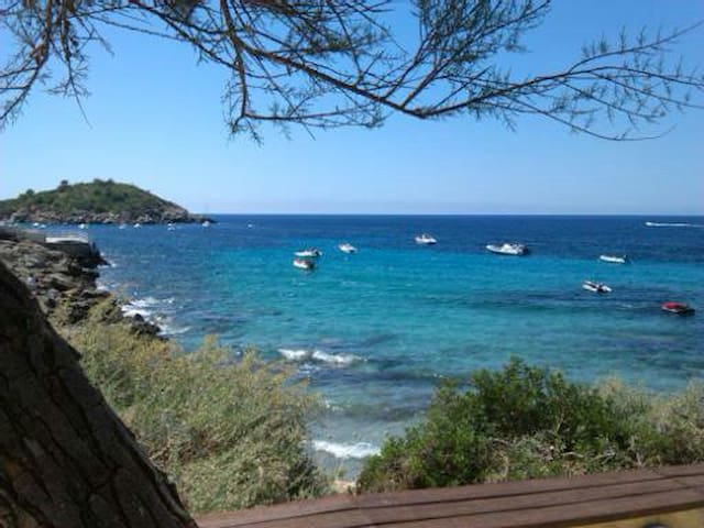 apartamento frente al mar - Sant Elm - Byt