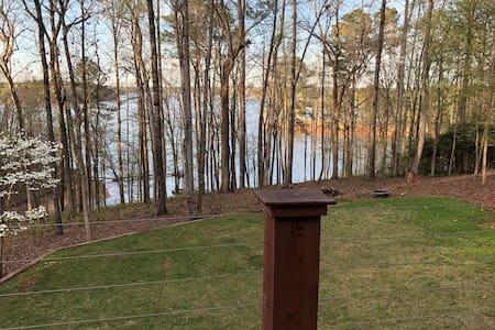 Beautiful lakefront home near Atlanta