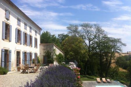 Maison de charme, French Tuscany - Marquein