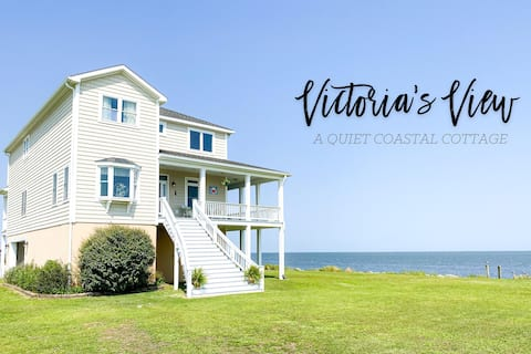 Coastal Cottage Ready for perfect waterfront views