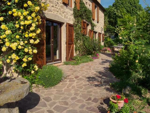 Romantic farmhouse, garden apartment with panorama