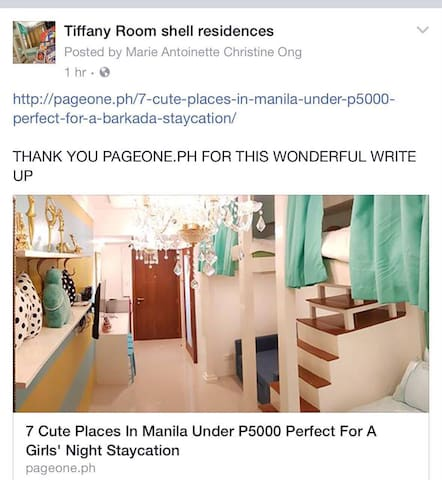 TIFFANY ROOM at shell residences - Pasay - Apartment