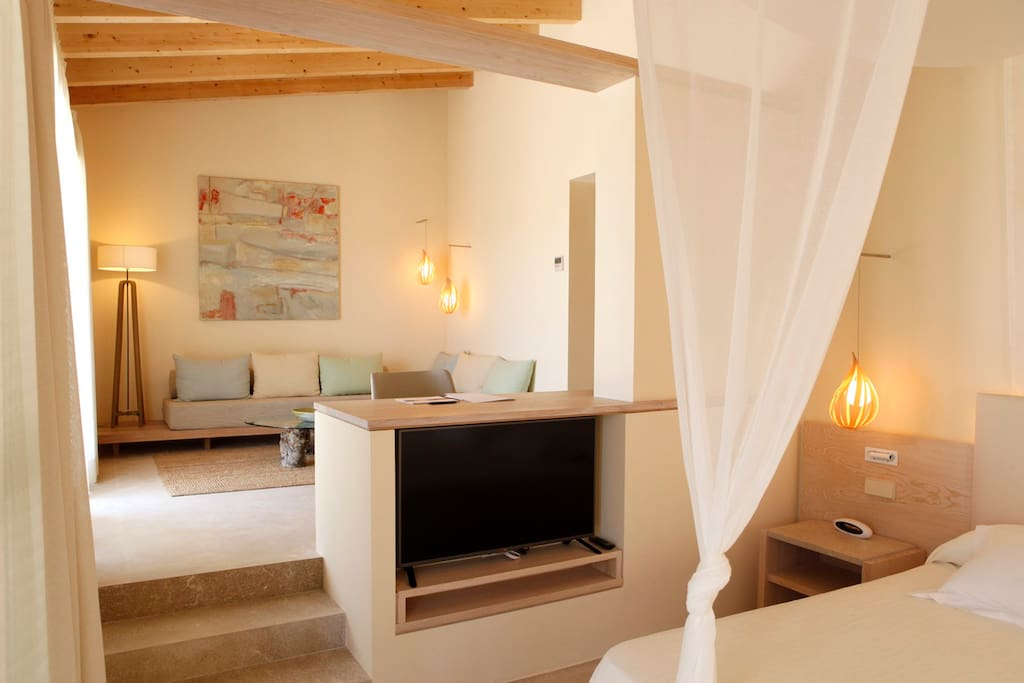 Aina suite con piscina privada bed and breakfasts en for Suite con piscina privada madrid