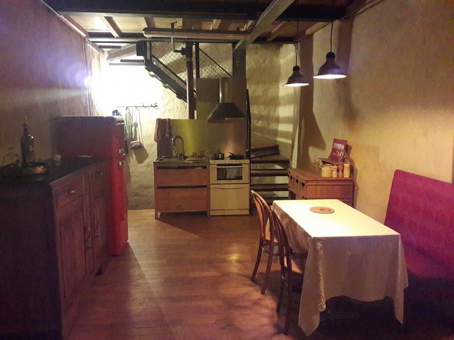 Salon, salle à manger (niv. 1)