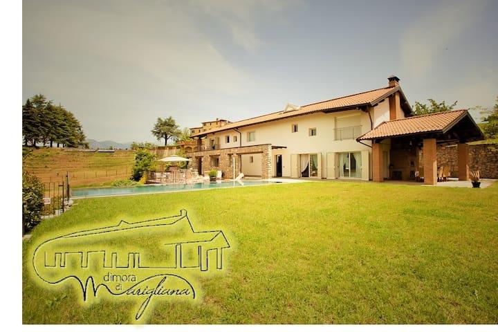 Amazing villa on the hills with infinitypool