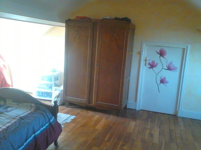chambre privée dans grande maison - Montargis - Casa