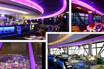 Atmosphere 360 rotate buffet restaurant to enjoy the full view of KL City