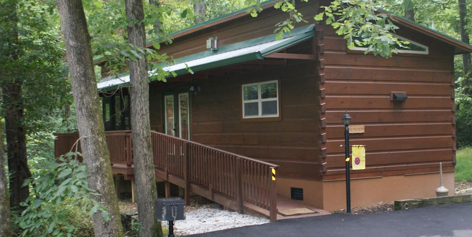Wildwood Cabin with Hot Tub at Solitude Pointe