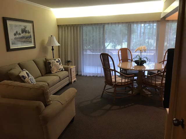 Studio at Innisbrook with view on Golf Course