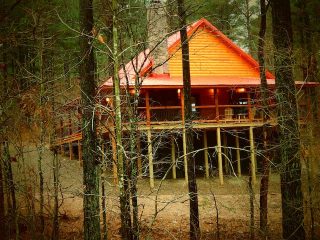 Moondance Lodge - Broken Bow - Srub