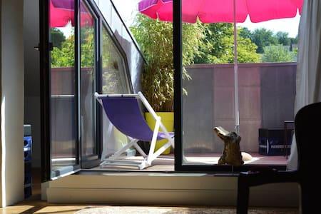 Anna-Thomsen-Stift, /roof terrace