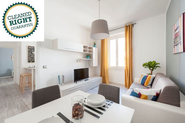 Modern Apartment @Pigneto Free WiFi 2 Bedroom 4PAX