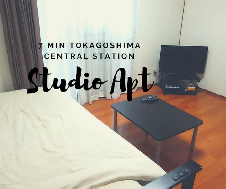 鹿児島中央駅から徒歩10分!【シングルタイプ】
