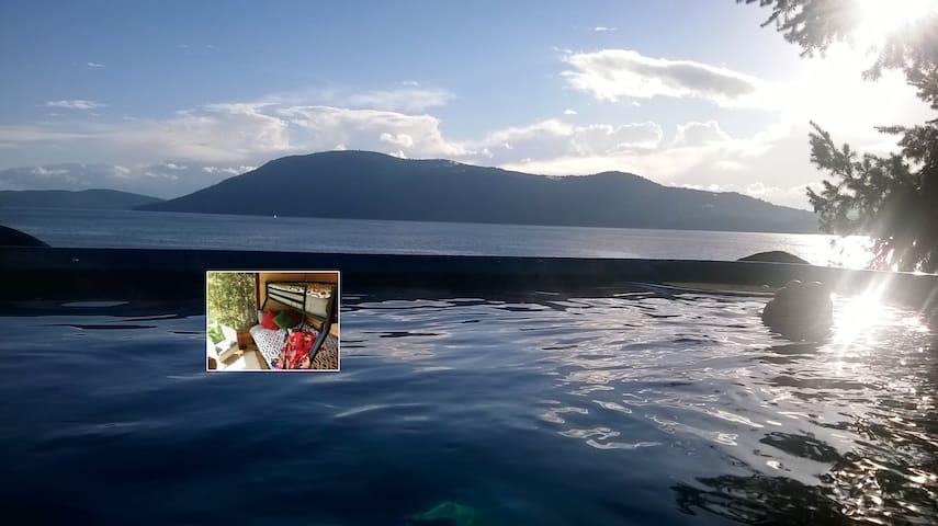 """1.""""Islandia"""" Winder Room waterfront [1of3 listings"""