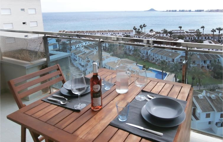 Holiday apartment with 1 bedroom on 44m² in San Javier