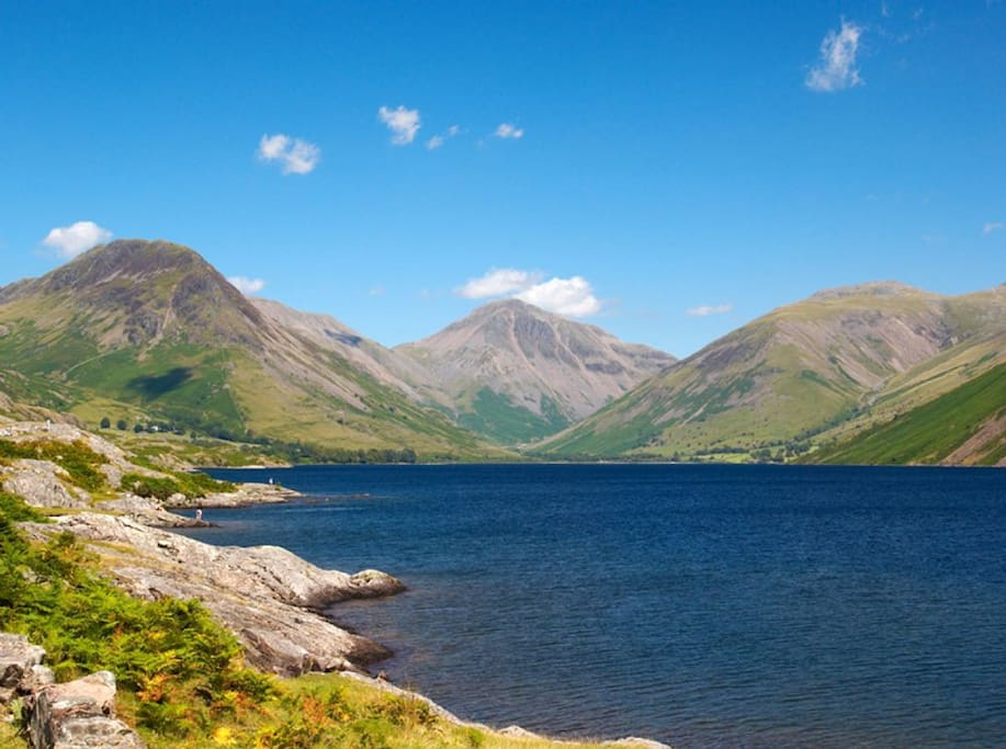 Nearby Wastwater Lake  - England's deepest!