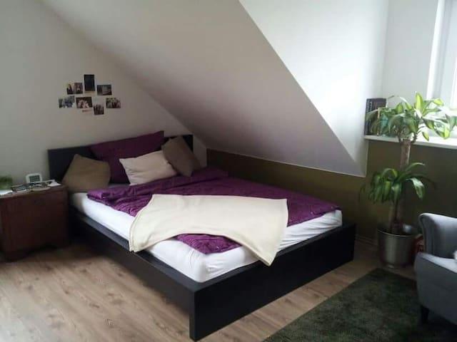 Schönes Zimmer mit Ausblick - Neusitz - บ้าน
