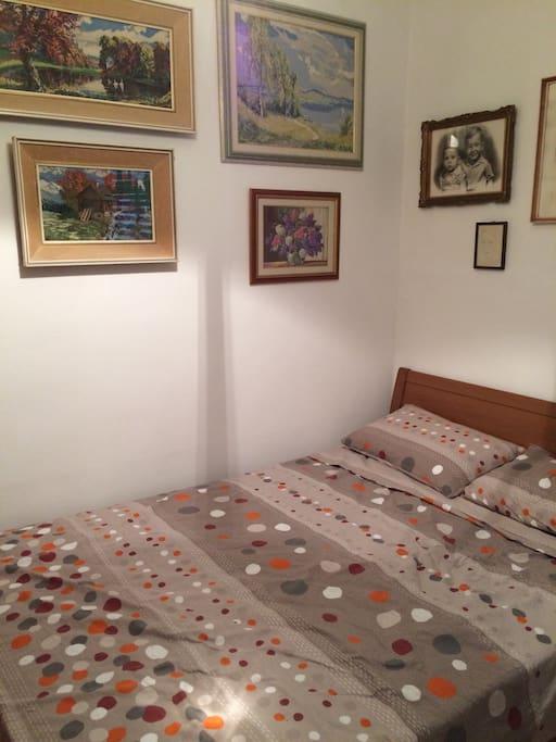 Bedroom... Double bed..