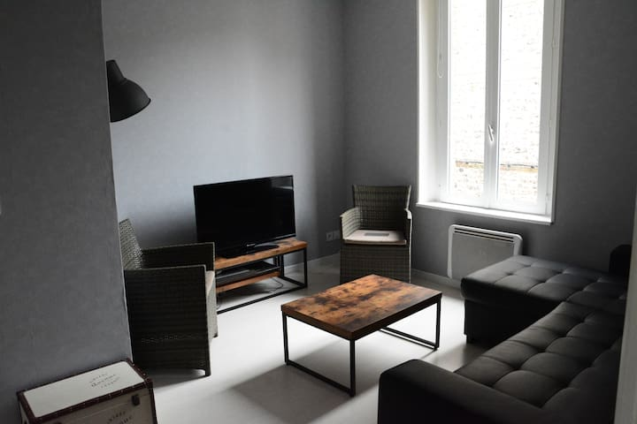 Apt à 50m du port, centre ville. - Saint-Valery-en-Caux - Apartment