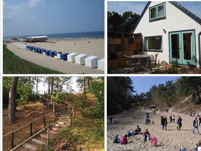 Strandgroet, vakantiehuisje in Groet