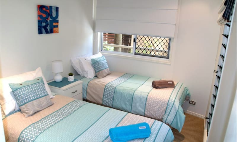 Middle Level Twin Bedroom