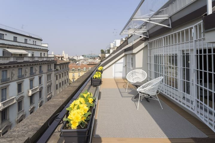 @Milano Duomo Suite with lovely terrace