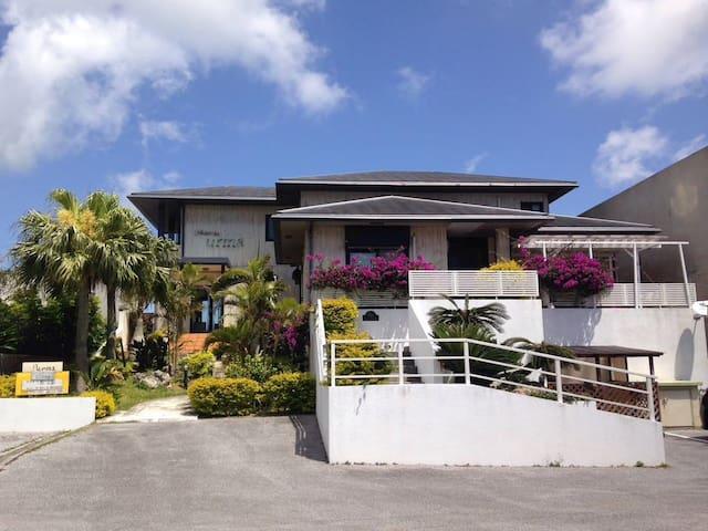 斎場御嶽 のんびり暮らす BBQ  Best sea & night view house