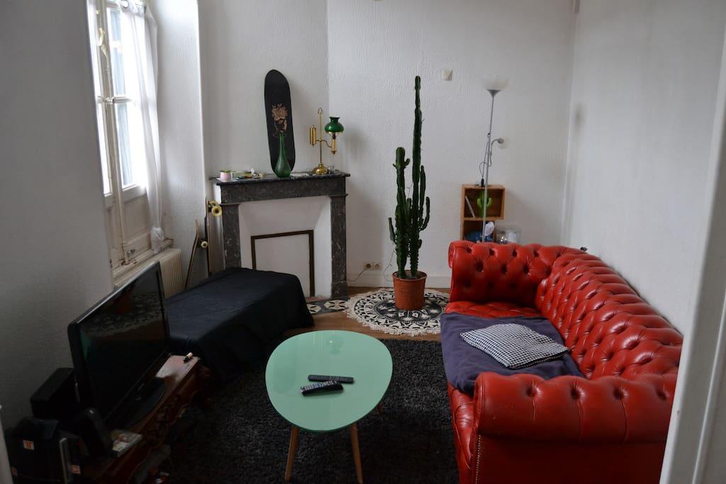 Appartement cosy saint michel centre ville wohnungen for Appartement bordeaux st michel